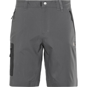 Jack Wolfskin Active Track Short Homme, dark iron